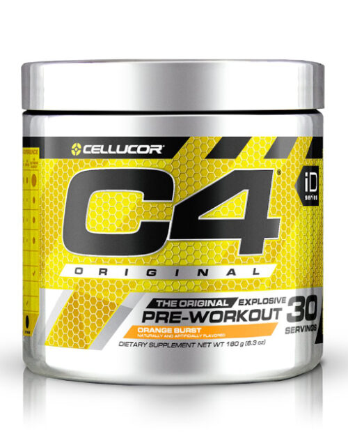 C4 Original Pre Workout 195g Orange Burst Cellucor