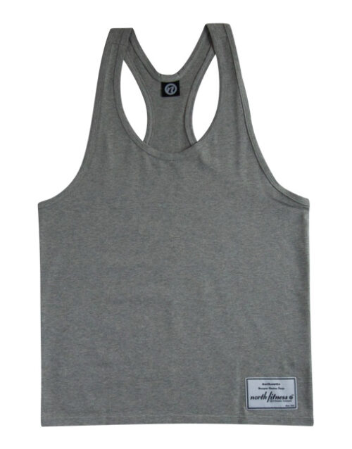 Classic Y-Back Tanktop Grey Front