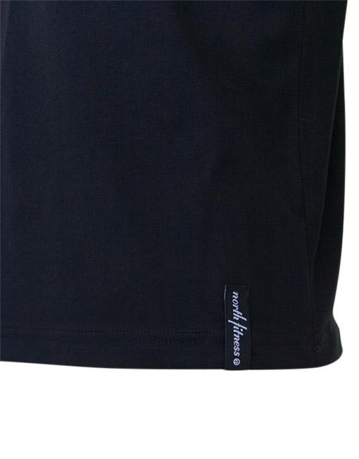 Gymrat Tee Black Cotton Brand Logo