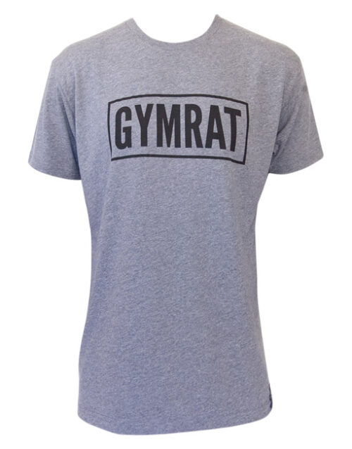 Gymrat Tee Premium Heather Tri-Blend Front