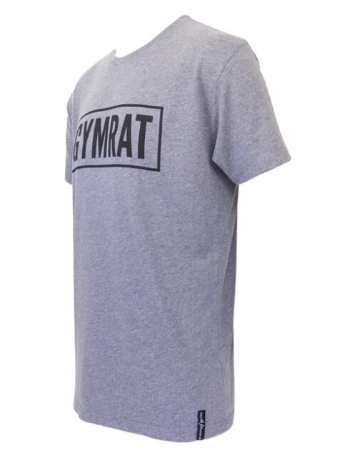 Gymrat Tee Premium Heather Tri-Blend Side