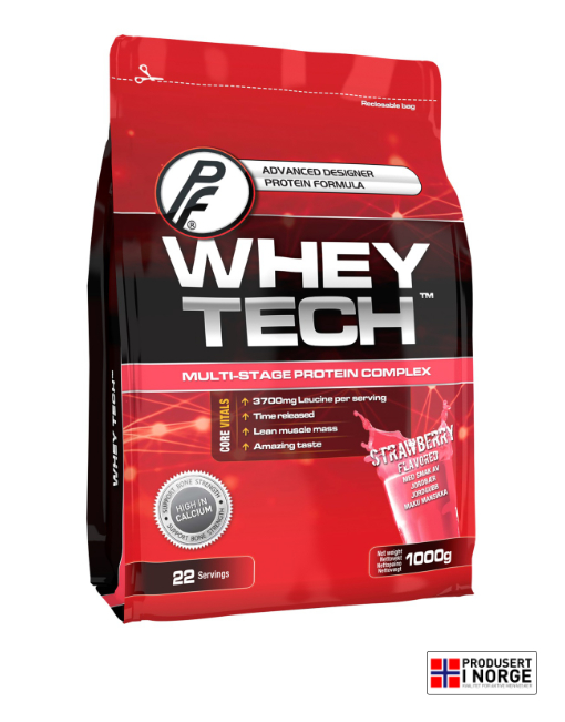 Whey Tech 1000g Jordbær