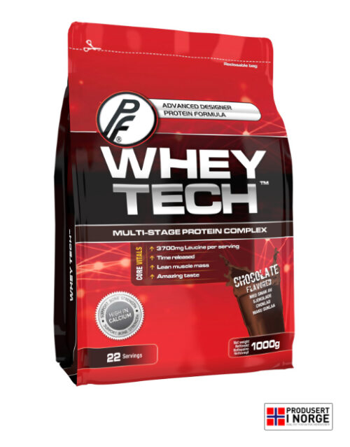 Whey Tech 1000g Sjokolade
