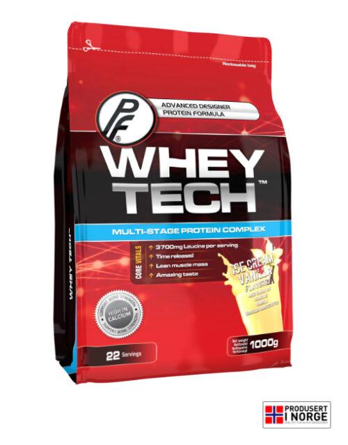 Whey Tech 1000g Vanilje