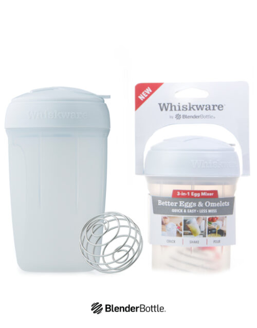 Whiskware Egg og Omelettmikser BlenderBottle